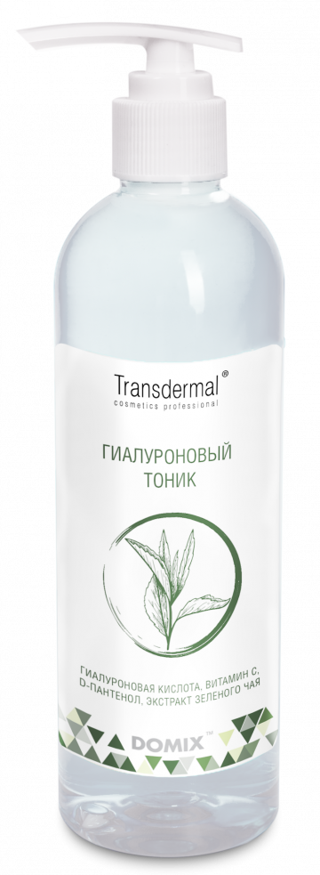 DOMIX GREEN PROFESSIONAL Тоник гиалуроновый для лица / Transdermal Cosmetics 250 мл